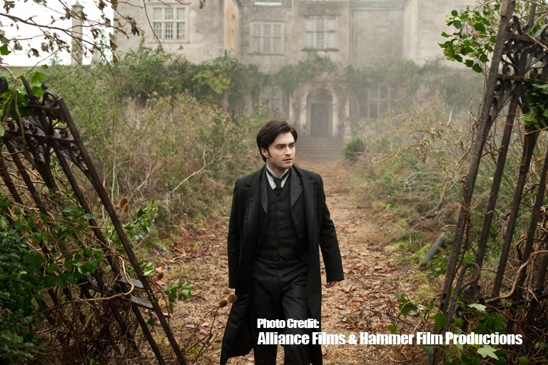 Daniel Radcliffe as Arthur Kipps in one of the scenes from the film | Photo Courtesy of Alliance Films