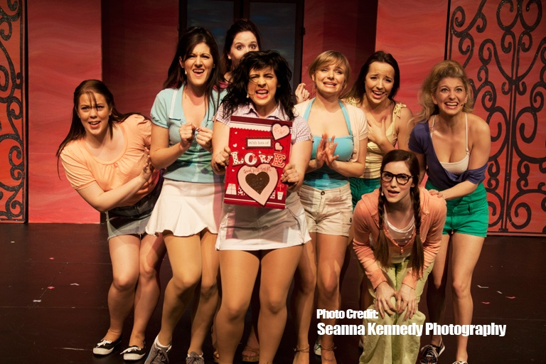 The Sorority Girls singing it out loud!