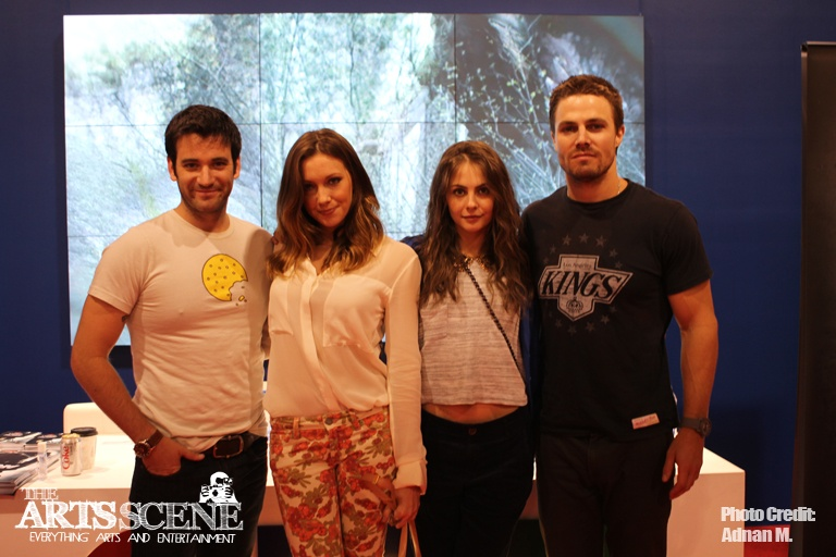Colin Donnell, Katie Cassidy, Willa Holland & Stephen Amell