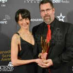 Emilie Gauthier & Erik Gosselin - Canadian Screen Awards 2013 Industry Gala 2