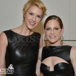 Lauren Lee Smith & Tara Spencer-Nairn - Canadian Screen Awards 2013 Industry Gala 2
