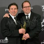 Mark Welton & David Campbell - Canadian Screen Awards 2013 Industry Gala 2