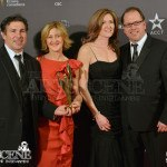 Mark Welton & David Campbell with wives - Canadian Screen Awards 2013 Industry Gala 2