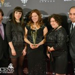 Mark Gingras, Katie Halliday, Marilee Yorston, Elma Bello, Rudy Michael - Canadian Screen Awards 2013 Industry Gala 2