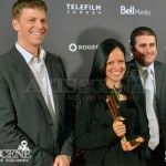 Jean-François Doray, Karine Martin & Frederic Guarin - Canadian Screen Awards 2013 Industry Gala 2