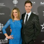 Zoie Palmer & Ryan Kennedy - Canadian Screen Awards 2013 Industry Gala 2