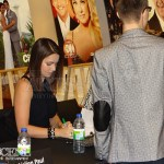 Erica Durance with Fans - FanZone: 2013 Canadian Screen Awards