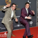 Ryan Belleville (right) - Canadian Screen Awards 2013