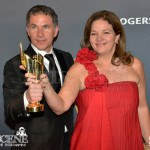 Pierre Even, Marie-Claude Poulin - Best Film - Rebelle War Witch - Canadian Screen Awards 2013