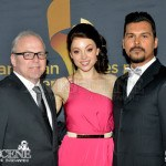 Leah Gibson & Adam Beach - Canadian Screen Awards 2013