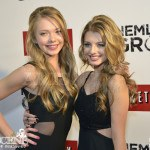 Emilia McCarthy & Eliana Jones - Hemlock Grove Toronto Red Carpet Premiere