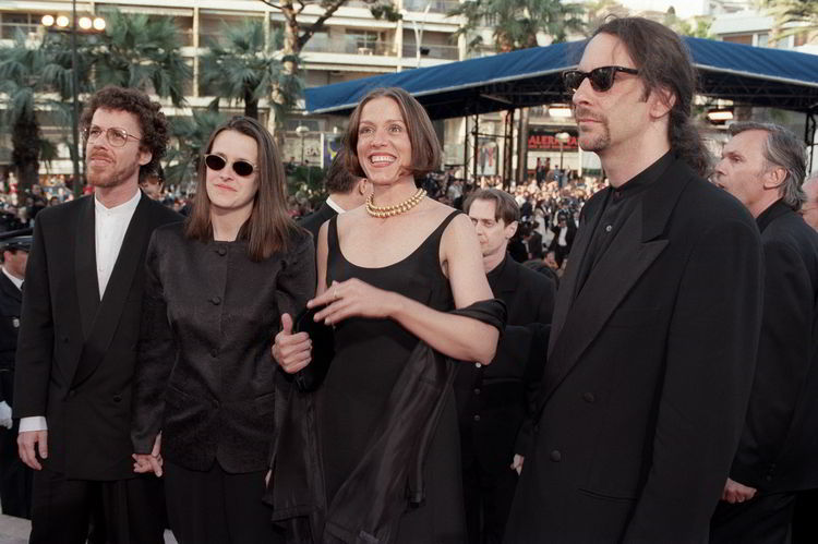 Frances McDormand and the Coen Brothers