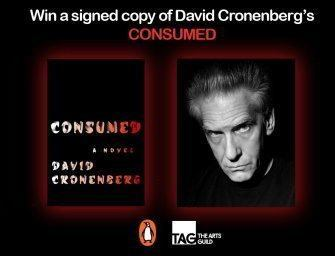 Win a Signed Copy of 'Consumed' by David Cronenberg