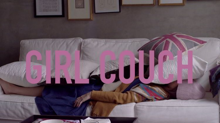 Girl Couch