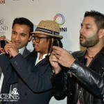 Devo Brown with Huse Madhavji & Friends at ANOKHI 10th Anniversary Gala Event