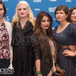 (L-R) Brooke Palsson, A.K. Shand, Lola Tash, Sara St. Onge and Krista Bridges - Molly Maxwell Red Carpet