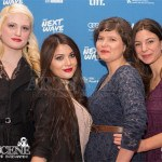 (L-R) A.K. Shand, Lola Tash, Sara St. Onge and Krista Bridges - Molly Maxwell Red Carpet