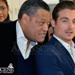 Laurence Fishburne & Kevin Zegers - The Colony Red Carpet Premiere