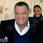 Laurence Fishburne & Gina Torres - The Colony Red Carpet Premiere