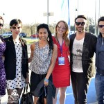 Erica Durance, Julia Taylor Ross, Glenda Braganza, Michelle Nolden, Salvatore Antonio & Daniel Gillies - 2013 Lakeshorts International Short Film Festival