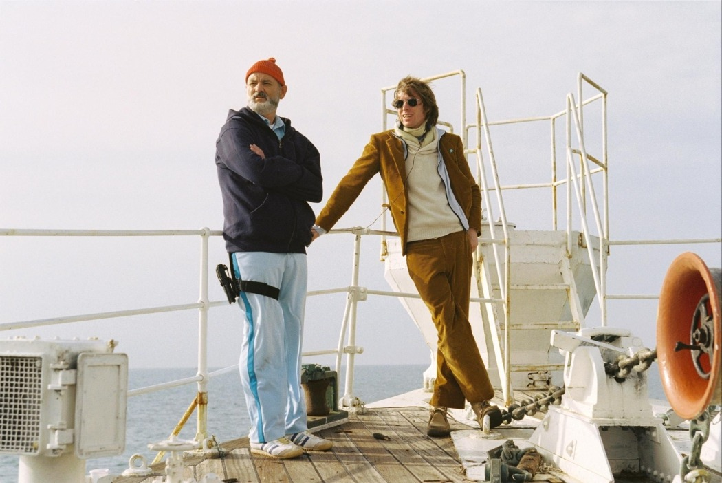 Bill Murray and Wes Anderson