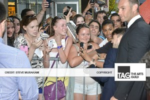 Fans with Daniel Radcliffe - 'The F Word' Red Carpet Premiere