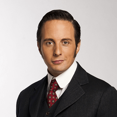 Jonny Harris plays Constable George Crabtree on CBC's Murdoch Mysteries