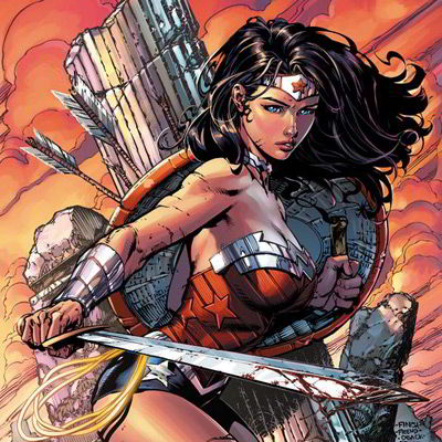 Wonder Woman by Artist David Finch
