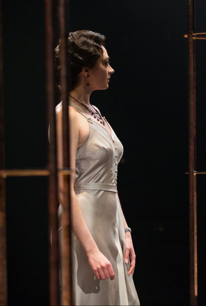 Mikaela Davies as Beatrice-Joanna in The Changeling. Photography by Cylla von Tiedemann.