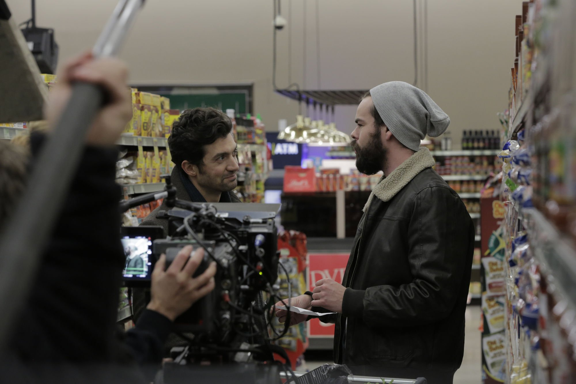 David Alpay and Jameson Parker in 'Prodigals' | Courtesy: Michelle Ouellet